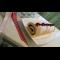 Фото Рулет бисквитный с клубничной начинкой