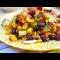 Фото Салат с консервированной фасолью и кукурузой