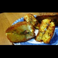 Рецепт: Ленивые хачапури с творогом