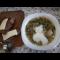 Фото Суп с молодой капустой и зеленым горошком