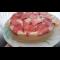 Фото Десерт сметанный с клубникой