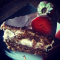 Фото Шоколадный торт со сливками