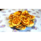 Фото Оладьи с копченым мясом, сыром, на сухой сковороде