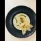 Фото Крем суп из шампиньонов с тимьяном и сухарями