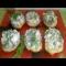 Фото Салат-закуска в лодочках из картофеля