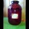 Фото Консервированный компот из красной смородины и ирги