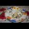 Фото Тушеная рыба в сметане, с рисом и яйцом