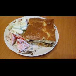 Рецепт: Запеканка на завтрак