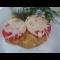 Фото Свинная отбивная с помидором и сыром