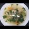 Фото Суп с фрикадельками и шпинатом