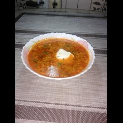 Рецепт: Борщ родом из Кубани