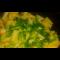 Фото Жареный картофель с чесночными стрелками