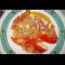 Фото Салат с тунцом и свежими помидорами