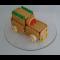"""Фото Детский десерт """"Машинка из печенья"""""""