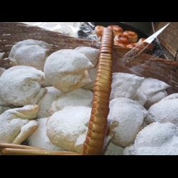 Рецепт: Ракушки с орехом и изюмом