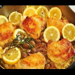 Рецепт: Фруктовая курица