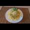 Фото Макароны с овощами в сливочно-сырном соусе