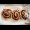 Фото Маковые булочки с банановым соусом