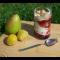 Фото Сливово-грушевый десерт с мороженым