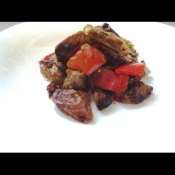 """Рецепт: Овощи с баклажанами """"под грибы"""""""