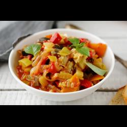 Рецепт: Овощное рагу с сладким перцем