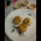 Фото Кабачковые маффины с сыром и баварской колбаской