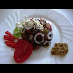 Рецепт: Овощное блюдо с грибами