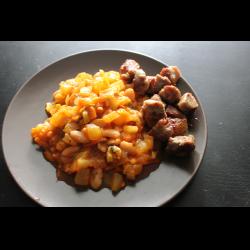 Рецепт: Овощи по-монастырски