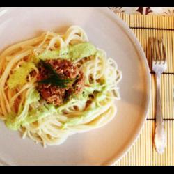 Рецепт: Лимонный соус с чесноком и зеленью