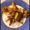 Фото Индейка с грушей и сладким перцем