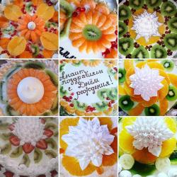 Рецепт: Торт бисквитный на День Рождения