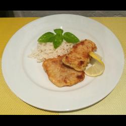 Рецепт: Жареное филе минтая