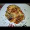 Фото Запеканка из картофельного пюре с фрикадельками