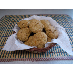 Рецепт: Овсяно- тыквенное печенье