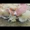 Фото Запеканка из тертого картофеля с сосисками