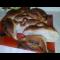 Фото Пирог открытый, отрывной, с начинкой из капусты