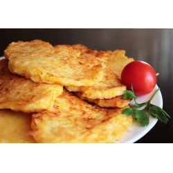 Рецепт: Драники из картофеля и тыквы