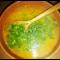 Фото Гороховый суп на кокосовом масле с булгуром и имбирем