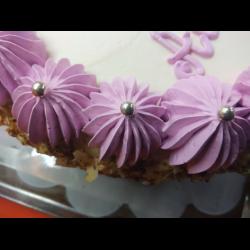Рецепт: Меренги (безе) для оформления тортов и пирожных с жемчугом