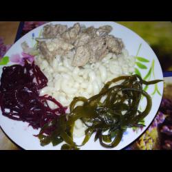 Рецепт: Маринования вареной баранины