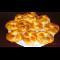 Фото Сдобные булочки с апельсиновой помадкой