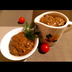 Рецепт: Сливочный соус из ароматных сухих грибов