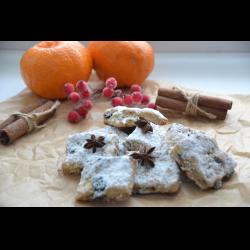 """Рецепт: Рождественское печенье """"Штолленки"""""""