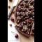 Фото Пирог с вишней, покрытый шоколадом