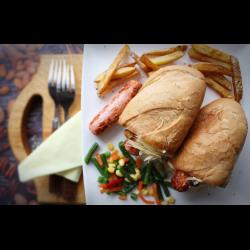 Рецепт: Картофельный хот-дог