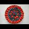 Фото Тарт-чизкейк со свежими ягодами