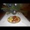 Фото Утенок на мангале с яблоками