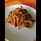 Фото Лапша с курицей и овощами в азиатском стиле