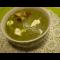 Фото Зеленый суп-пюре из замороженного горошка