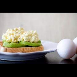 Рецепт: Тост с яичным салатом